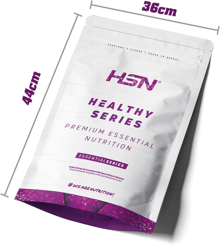 Proteína de Guisante Aislada de HSN   Vegan Protein   Pea Protein Isolate   Edulcorada con Estevia   Vegano, Sin Lactosa, Sin Gluten, Sin Azúcar, Sin ...