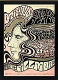 The Grateful Dead 1960's Art Nouveau Framed Concert Poster Highest Quality