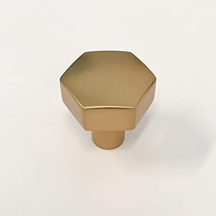 Geometric Brass Cabinet Knob Pull Handle Furniture Door Knobs And