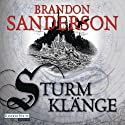 Sturmklänge Audiobook by Brandon Sanderson Narrated by Detlef Bierstedt