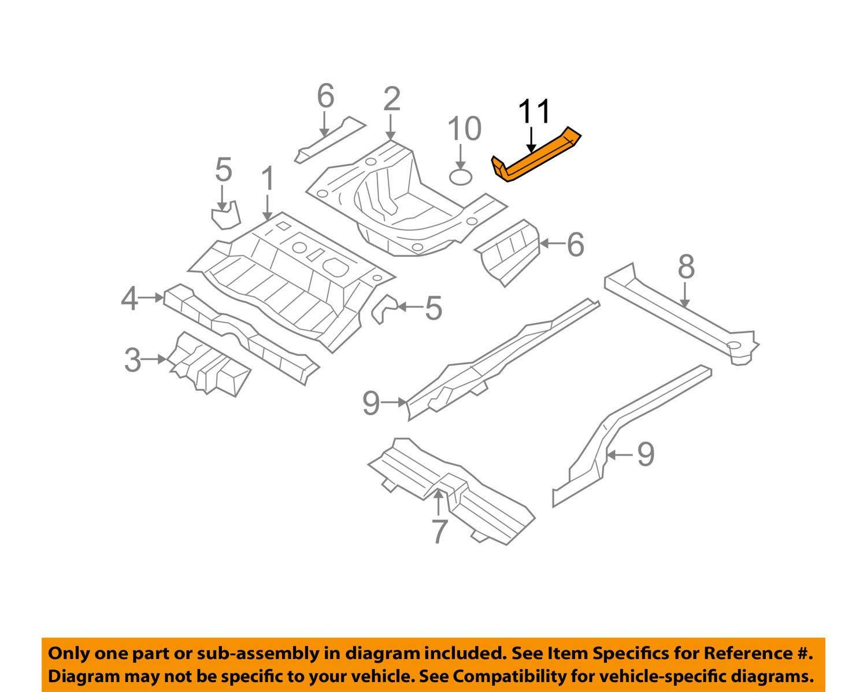 Rear HYUNDAI Genuine 65535-3L100 Towing Hook Bracket Assembly