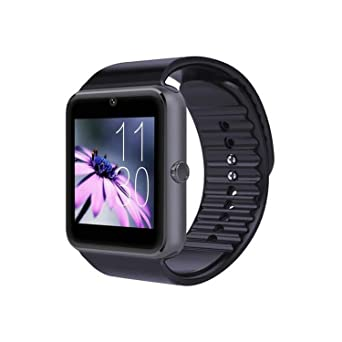 Générique Montre Connectée Smartwatch GT08 Montre Connecter Francais Watch Bluetooth Montre Telephone (Noir+ Bracelet de Montre Noir): Amazon.fr: Montres