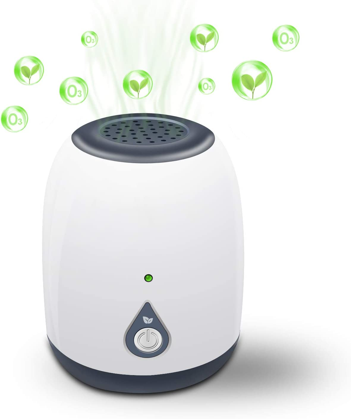 Air Purifiers for Home, Portable Mini Ozone Generator, Odor Eliminator Ozone Cleaner Mini Air Ionizer, Air Cleaner for Travelling, Outdoor, Room, Pets, Cars
