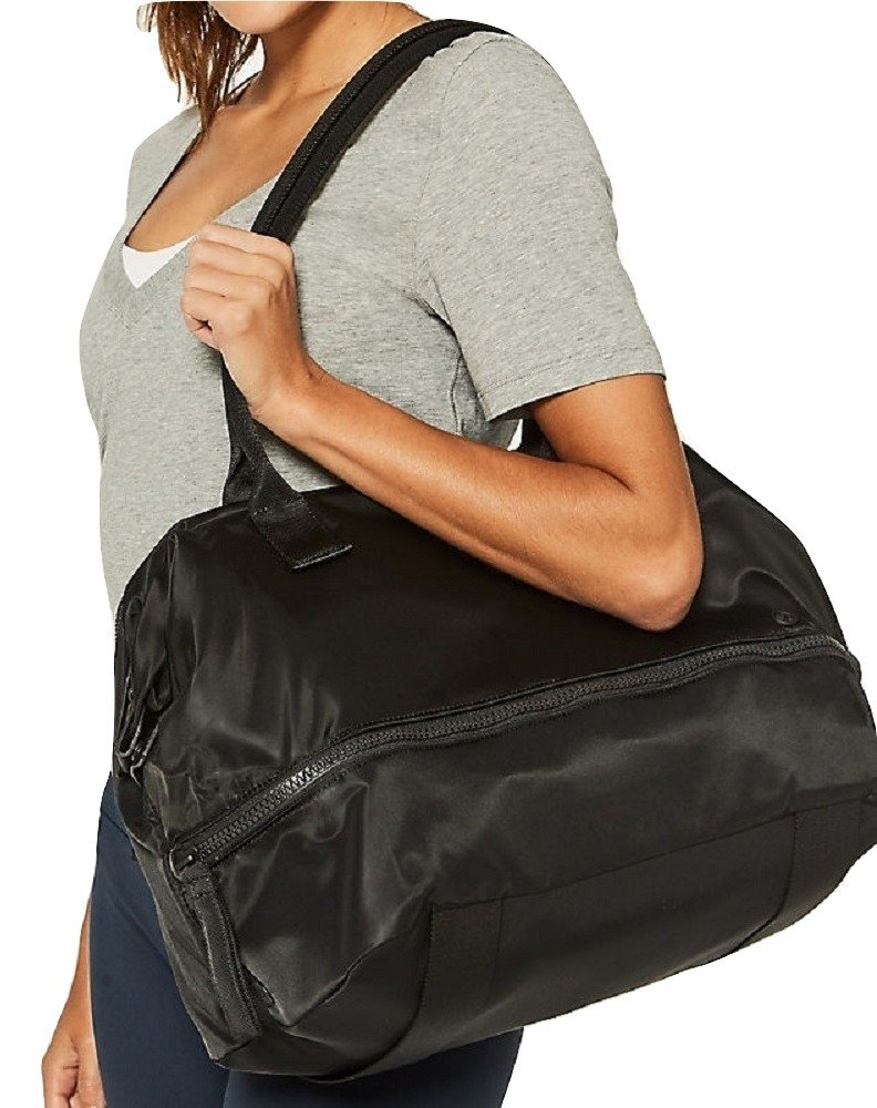 Lululemon Go Lightly Duffel Bag (Black)
