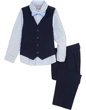 389f02775 Kenneth Cole Boys' Big 4-Piece Formal Vest Set. #3