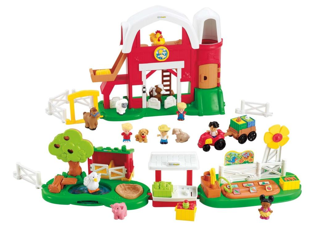 Amazon.com: Fisher-Price Little People Growing Garden and ...
