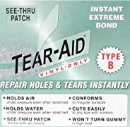 RV Camper Awning Canvas Cloth Tent Hole Repair Patch - Tear Aid 15cm x 30cm Patch A