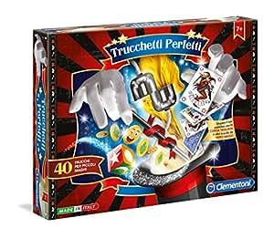 Clementoni 11558 - kits de magia para niños [versión italiana]-Multicolor