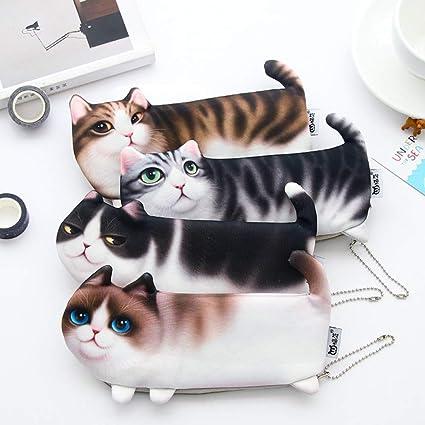 Bolsas de papel,bolsas de lápices,bolsas de papel de gato,cajas de papel de gato,bolsas de lápiz,material escolar,para estudiantes/mensajeros 22 * 10,5 cm: Amazon.es: Oficina y papelería