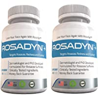 Rosacea Treatment Supplement by Rosadyn | Relief for Face & Nose Redness, Acne and Red Eyes | Works Internally Unlike a…