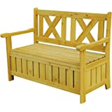 Leisure Season SB6024 Bench with Storage