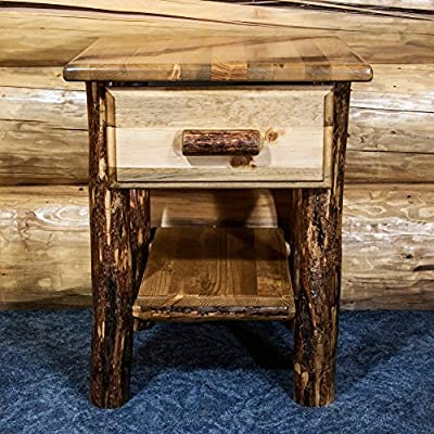 Montana Woodworks Glacier Country 1 Drawer Nightstand