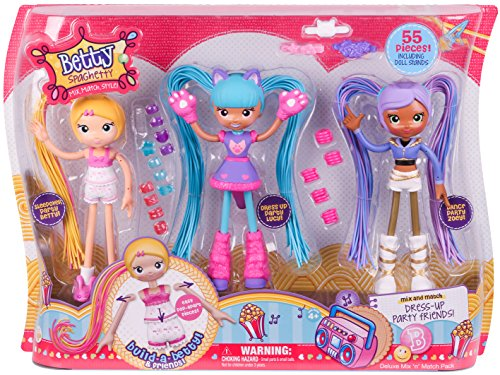 [Betty Spaghetty Deluxe Mix and Match Toy] (Mix N Match Dance Costume)