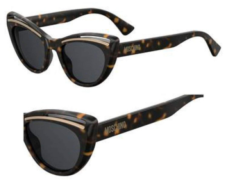 Sunglasses Moschino Mos 36 //S 0086 Dark Havana//IR gray blue lens