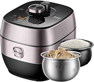 Multi-Cooker, Electric Pressure Cooker,24H Timing,Large Touch Panel,Adjustable Pressure,Easy To Clean, Slow Cooker, Rice Cooker, Stainless Steel