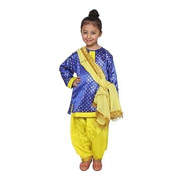 b1931ad763e4 Buy Shri Nikunj Raangoli Punjabi Girl fancy dress costume for kids ...