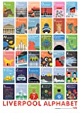 Andy Tuohy A-Z Liverpool Poster
