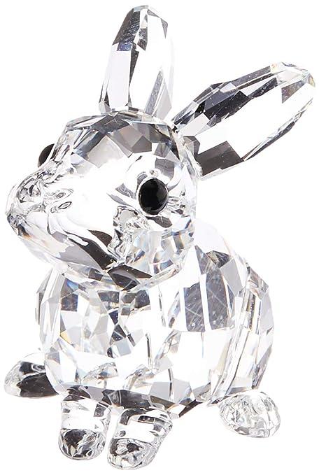 Image of: Newborn Baby Bunny Swarovski Baby Rabbit Amazoncom Amazoncom Swarovski Baby Rabbit Home Kitchen