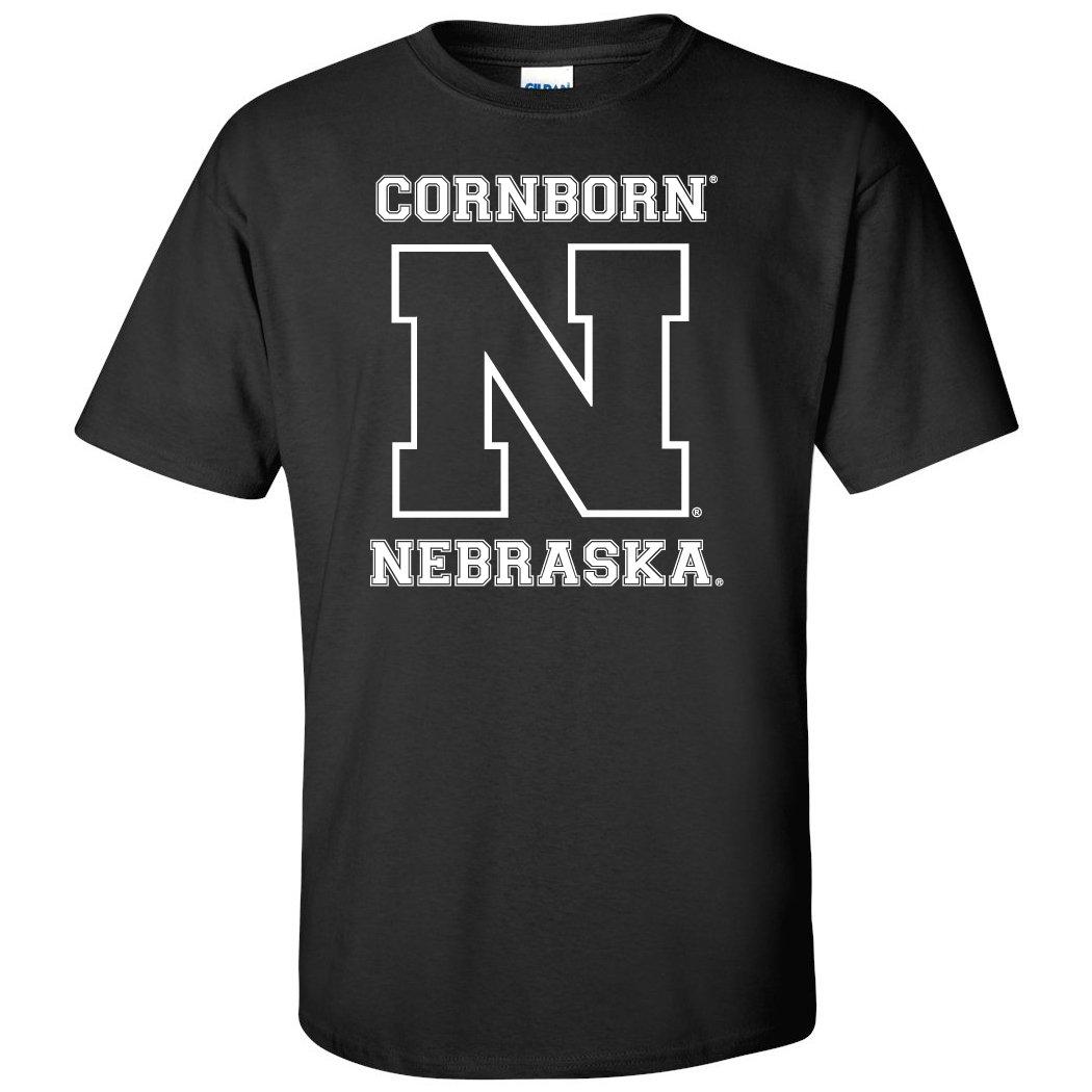 Cornborn Nebraska Cornhuskers Football N Nebraska T Shirts