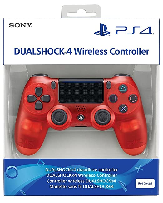 481 opinioni per Playstation 4: Dualshock 4, Red Crystal- Special