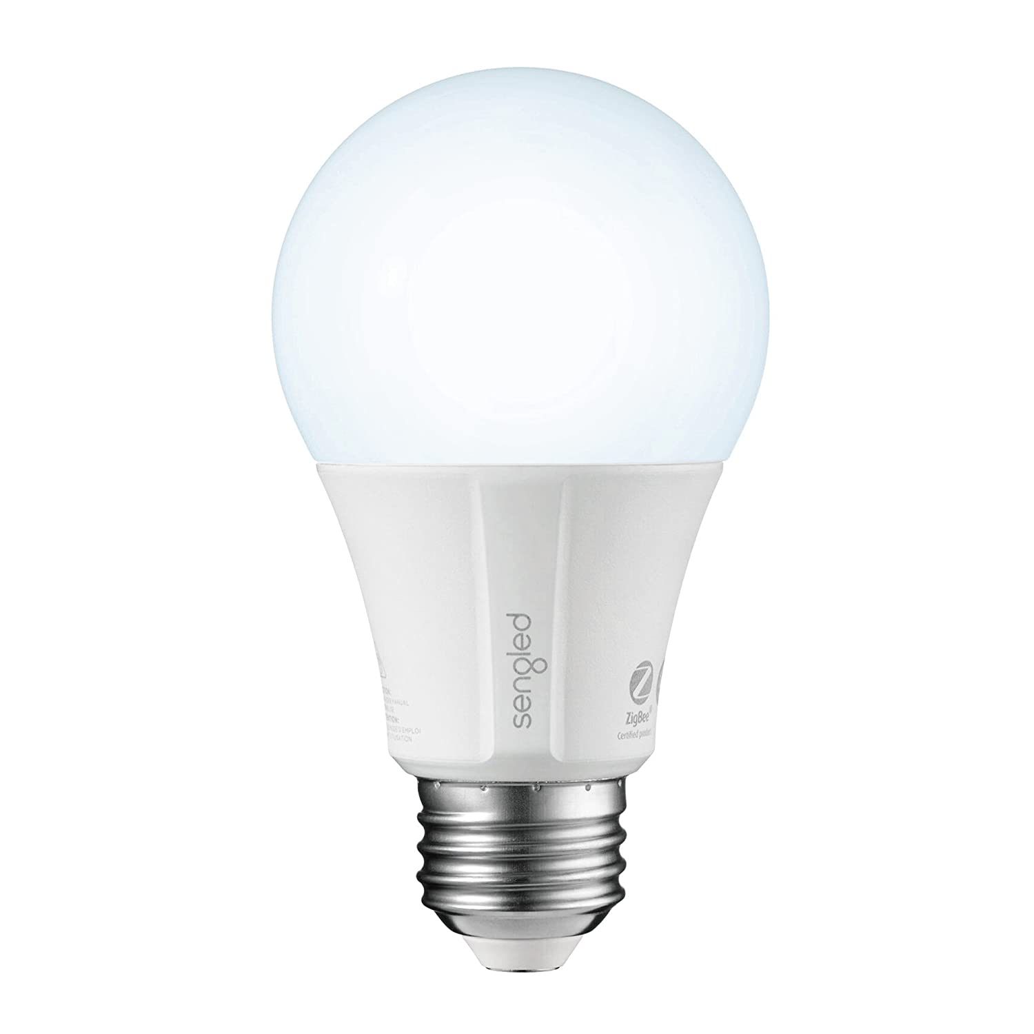 Element Classic by Sengled - A19 Soft White 2700K Smart LED Bulb (Hub Required), Works with Alexa, Google Assistant, Echo Plus & SmartThings - 1 Pack E11-G13W energy efficient track energy usage app controlled connected