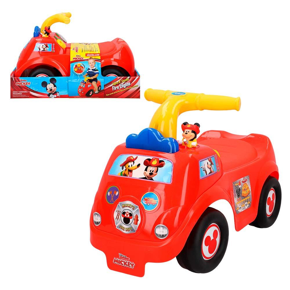 Disney- Correpasillos camión interactivo, Mickey (Colorbaby 46344)