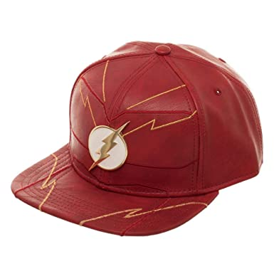 daa170298123bd Image Unavailable. Image not available for. Color: DC Comics The Flash  Rebirth Snapback Hat
