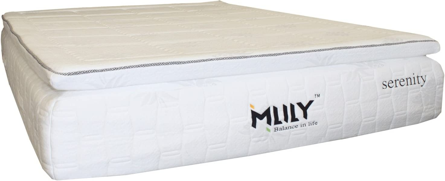 Comfortable Memory Foam 13 Pillow Top Quality Affordable Mattress Full