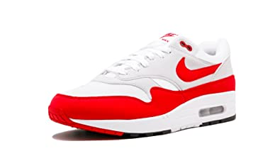 Image Unavailable. Image not available for. Colour  Nike AIR MAX 1  Anniversary Mens Sneakers 908375-103 - White University ... 9c1a76dbc