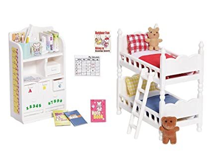 Modern Calico Critters Bedroom Set Interior