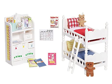 Amazon.com: Calico Critters Deluxe Children\'s Bedroom Set: Toys & Games
