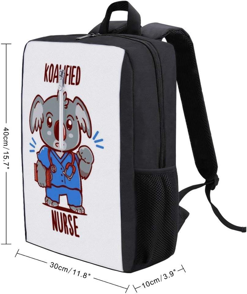 Koalified Nurse Backpack Daypack Rucksack Laptop Shoulder Bag with USB Charging Port