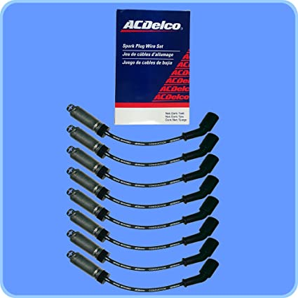 Amazon.com: New OEM Spark Plug Wire Set W/Heat Shields For LS1 LS2 LS7 Engines: Automotive