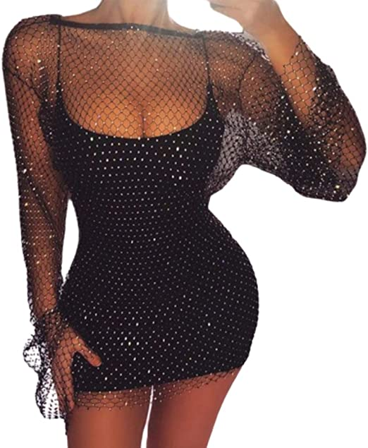 NEW BEAUTIFUL BLACK OR PINK MESH FISHNET LONG SLEEVE COVER UP WRAP S L SALE