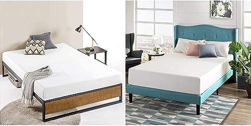 Zinus Suzanne 14 Inch Platform Bed Without Headboard