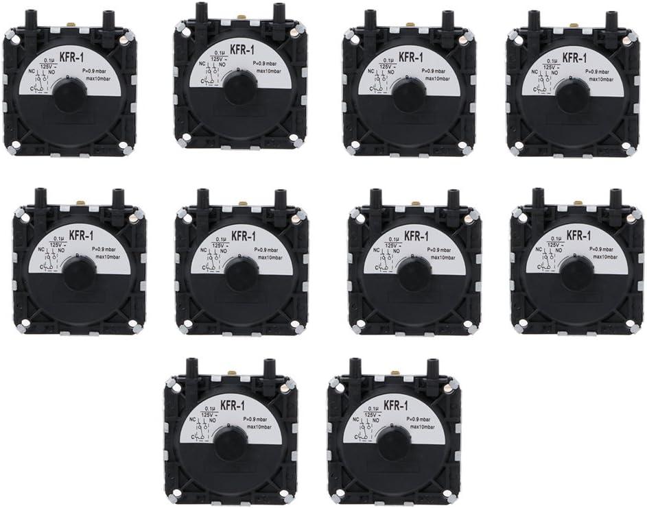 VAILANG 10 Piezas Caldera Gas Calentador de Agua Interruptor de presión Interruptor de presión Universal KFR-1