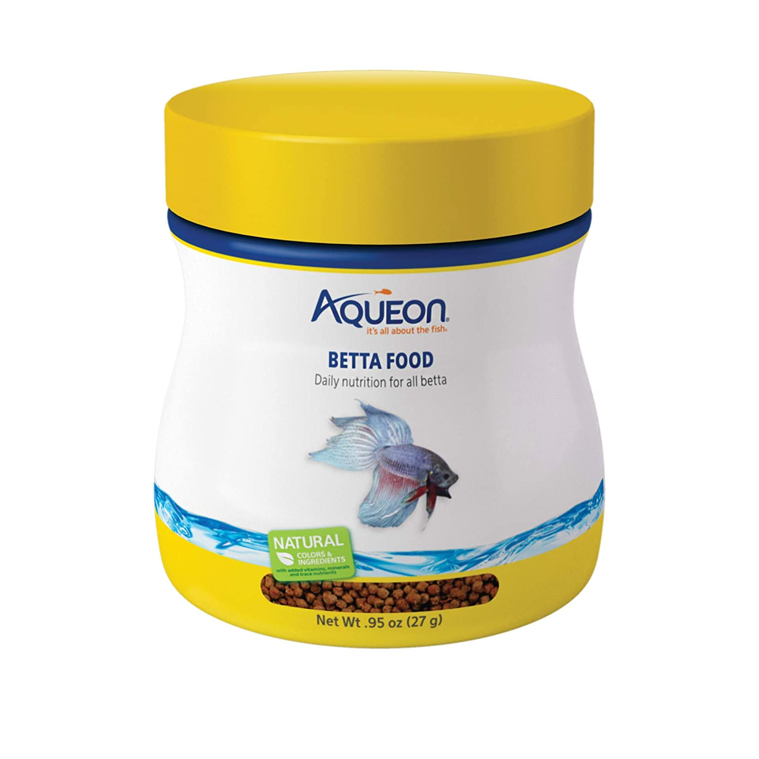 buy aqueon 06051 betta food 0 95 ounce online at low prices in