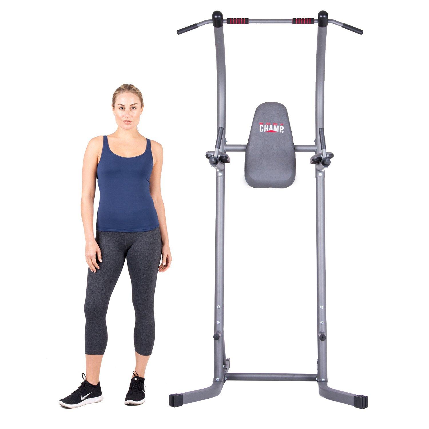 Body Champ PT620 Fitness Multifunction Power Tower (Best for Short People)