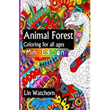Animal forest MINI: Coloring books for all ages