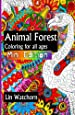 Animal forest MINI: Coloring books for all ages (Mini Coloring Books for adults) (Volume 4)