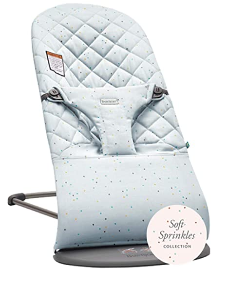 Buy Baby Bjorn Bouncer Bliss Quilted Cotton Blue Sprinkles Online At Low Prices In India Amazon In