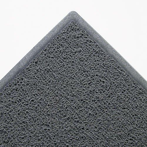 Dirt Stop Scraper Mat, Polypropylene, 36 x 60, Slate Gray, Sold as 1 Each