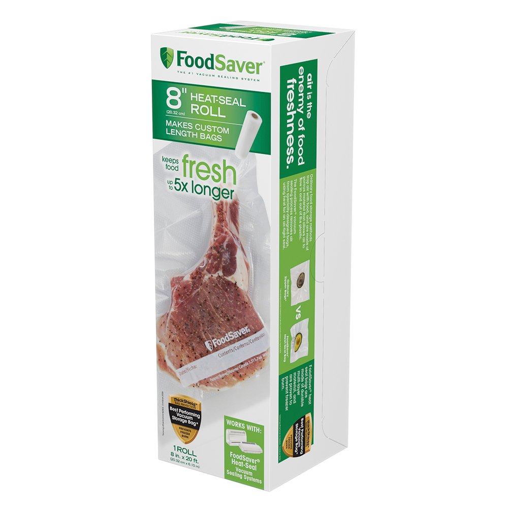 """FoodSaver 8"""" x 20' Heat-Seal Roll"""