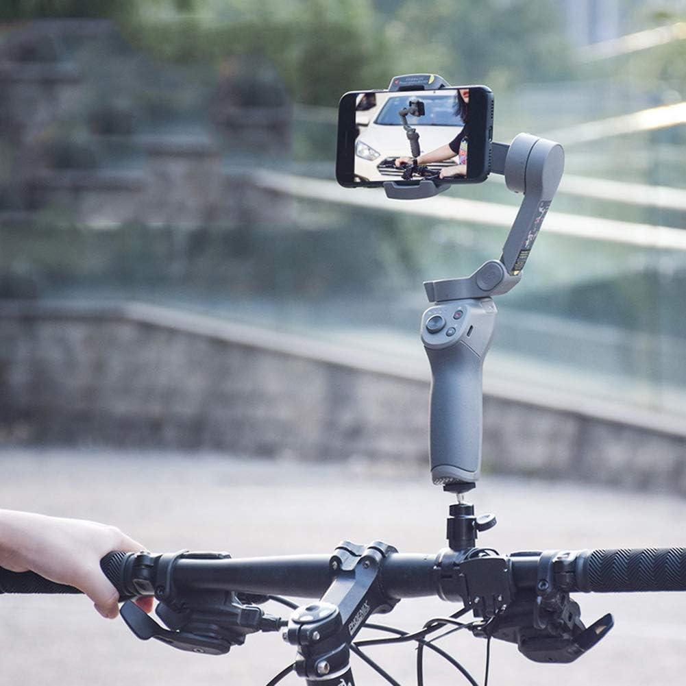 LOVEYue Estabilizador De Soporte De Soporte De Bicicleta De Cámara De Cardán para dji OSMO Mobile 2/3, Accesorios Bicicleta Negro: Amazon.es: Deportes y aire libre
