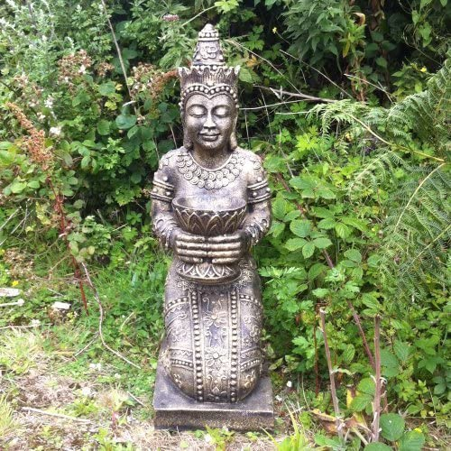 Grandes estatuas de jardín tibertano - princesa tailandesas Escultura: Amazon.es: Jardín