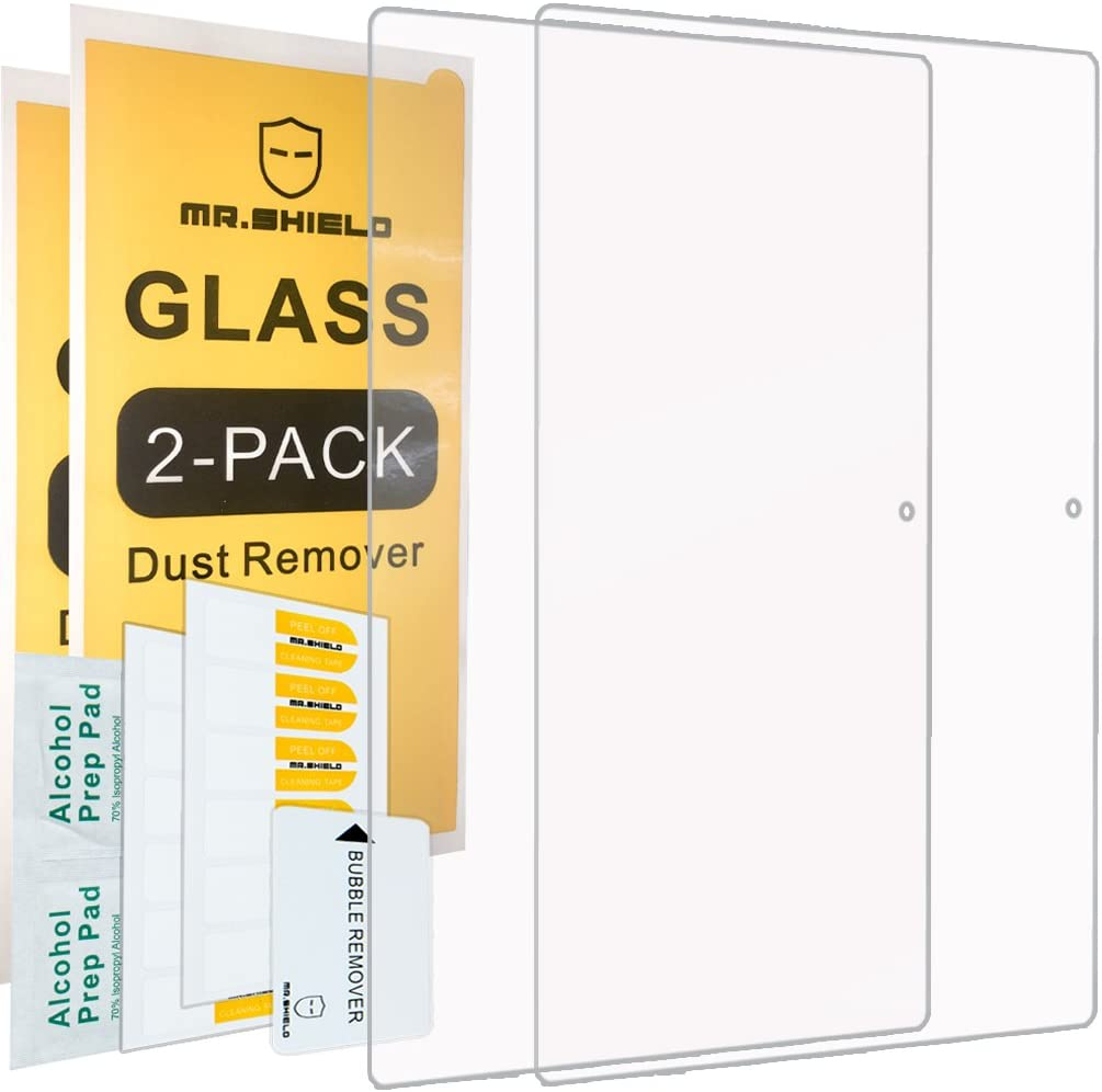 [2-PACK]-Mr.Shield For Lenovo Ideapad MIIX 310 [Tempered Glass] Screen Protector with Lifetime Replacement