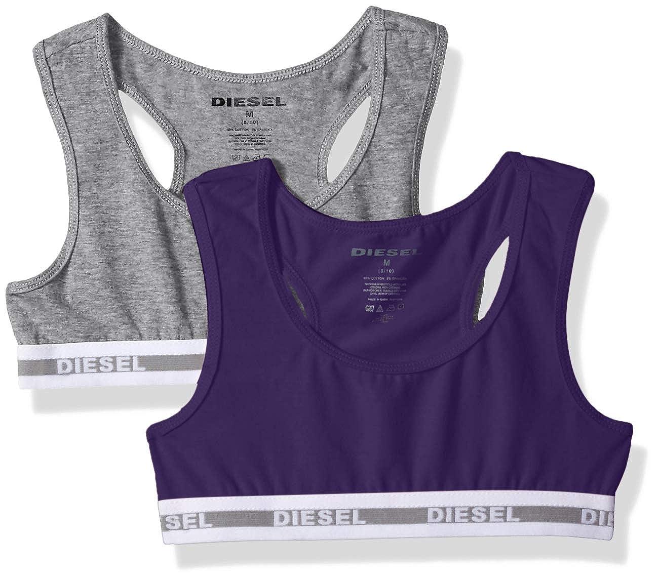 Diesel Accessories Girls' Big 2 Pack Sports Bra DS_302