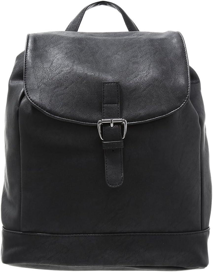 Anna Field Damen Rucksack elegant Tagesrucksack aus hochwertigem Lederimitiat Rucksackhandtasche mit Tragegriff Backpack Tasche ca. 36x30x14 cm