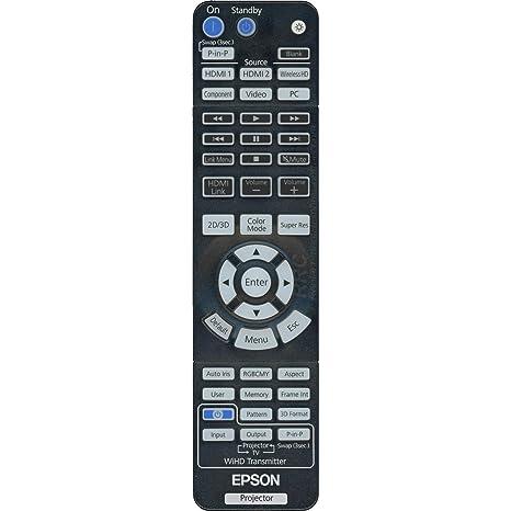 Epson Projector Remote Control: PowerLite Home Cinema 3000, PowerLite Home  Cinema 3500, PowerLite Home Cinema 3600e