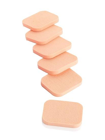 6 piezas espuma suave cosméticos faciales esponja aplicadores de maquillaje – Accesorios de Belleza